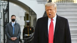 Trump Buka Kantor Pribadi Kawal Agenda Pemerintahnya