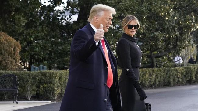 Sidang Pemakzulan Trump Digelar 8 Februari