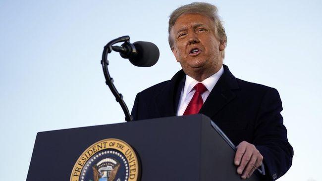 Mantan Presiden AS Donald Trump terancam tidak bisa lagi mencalonkan diri sebagai kandidat presiden pada pilpres 2024 jika Senat sepakat memakzulkannya.