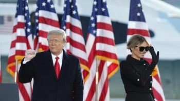 Trump Diam-diam Sudah Disuntik Vaksin Covid sebelum Lengser