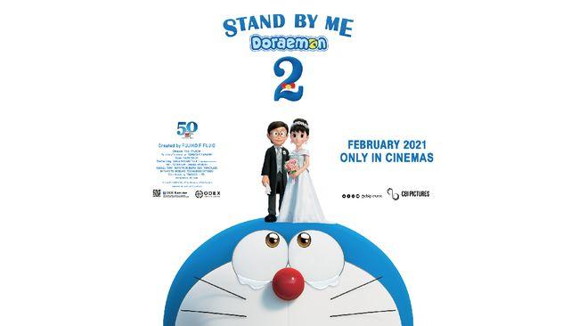 Rencana pernikahan Nobita dan Shizuka dalam film Stand By Me Doraemon 2 bisa disaksikan dalam waktu dekat.