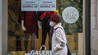 FOTO: Temukan Mutasi Corona, Jerman Perpanjang Lockdown