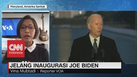 VIDEO: 25 Ribu Garda Nasional Kawal Inaugurasi Biden - Harris