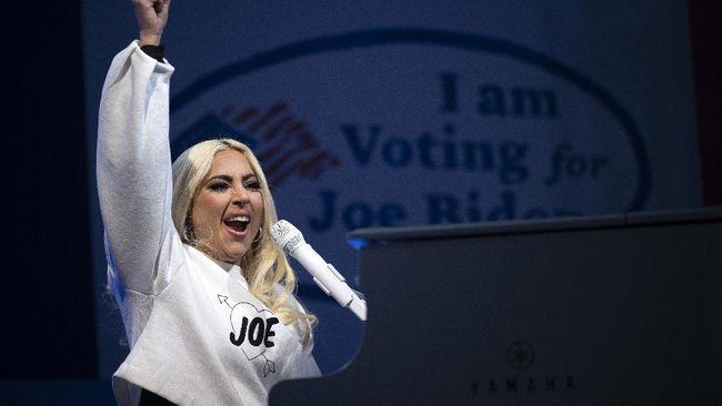 Lady Gaga berdoa dan berharap pelantikan Presiden Terpilih AS Joe Biden akan berjalan damai dan penuh cinta.