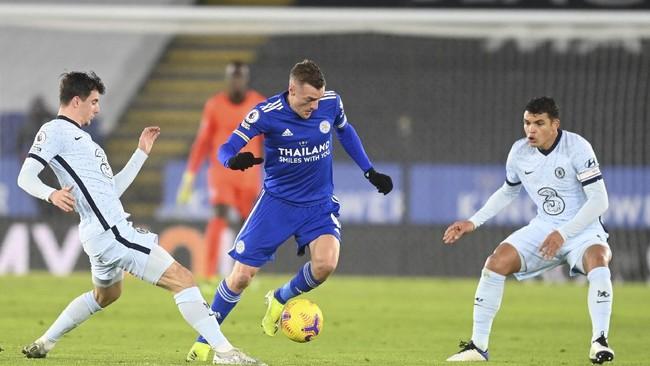 Hasil Liga Inggris: Leicester Bekuk Chelsea 2-0