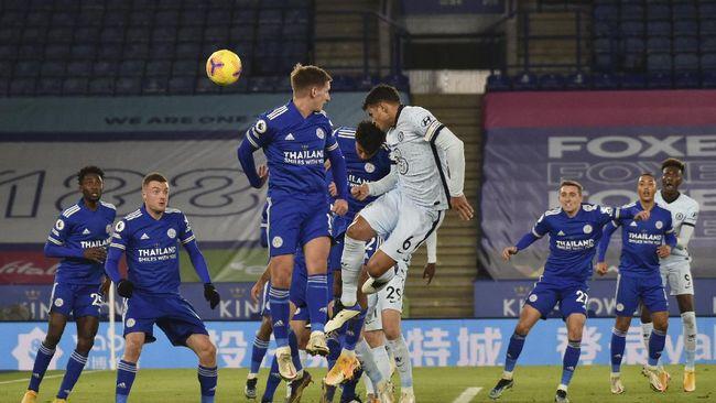 Berikut prediksi susunan pemain Chelsea vs Leicester City dalam final Piala FA di Stadion Wembley, Sabtu (15/5) malam WIB.