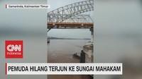 VIDEO: Pemuda Hilang Terjun ke Sungai Mahakam