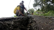 PVMBG: Potensi Bencana Gerakan Tanah di RI Tinggi Maret 2021
