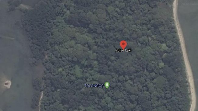 Basarnas tak menemukan apapun setelah mengecek lokasi tanda SOS di Pulau Laki yang terletak tak jauh dari lokasi jatuhnya pesawat Sriwijaya Air SJ 182.