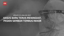 VIDEO: RI Catat Rekor 9.755 Pasien Sembuh