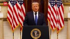 VIDEO: Pidato Terakhir Trump, Doakan Biden Sukses Pimpin AS