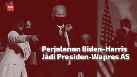 VIDEO: Perjalanan Biden-Harris Jadi Presiden-Wapres AS