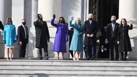 Obama dan Sejumlah Pejabat Tiba di Upacara Pelantikan Biden