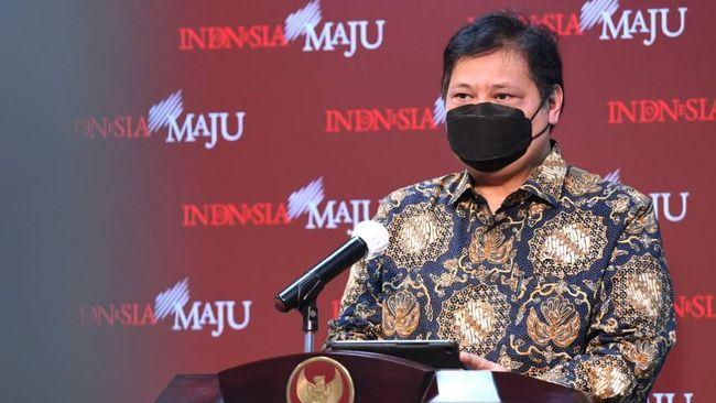 Menko Perekonomian Airlangga Hartarto meminta tambahan anggaran Rp108,1 miliar jadi Rp503 miliar untuk 2022. Permintaan disampaikan ke DPR.