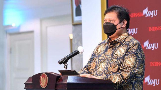Pemerintah, melalui Ketua KPC-PEN Airlangga Hartarto, menjelaskan alasan pelonggaran sejumlah aturan di PPKM Mikro.