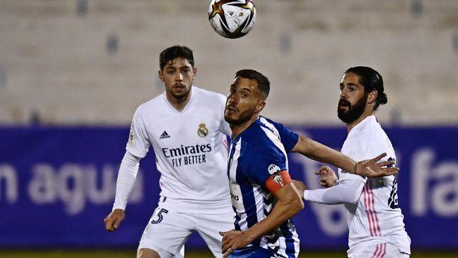 Laga Real Madrid vs Real Sociedad jadi ajang Los Merengues untuk terus mengejar pemuncak klasemen Liga Spanyol, Atletico Madrid.