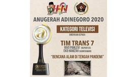 Trans7 Sabet Penghargaan Anugerah Adinegoro 2020