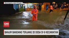 VIDEO: Banjir Bandang Terjang 20 Desa di 6 Kecamatan