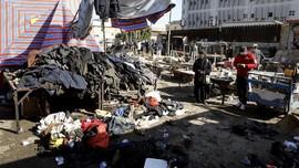 FOTO: Bom Bunuh Diri Guncang Irak, 28 Orang Tewas
