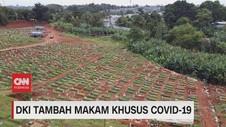 VIDEO: DKI Tambah Makam Khusus Covid-19