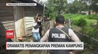 VIDEO: Dramatis Penangkapan Preman Kampung di Palembang
