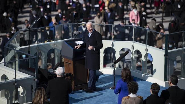 Pemimpin Dunia Ucapkan Selamat pada Biden Usai Dilantik