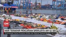 VIDEO: Hari Terakhir Pencarian Sriwijaya Air SJ 182