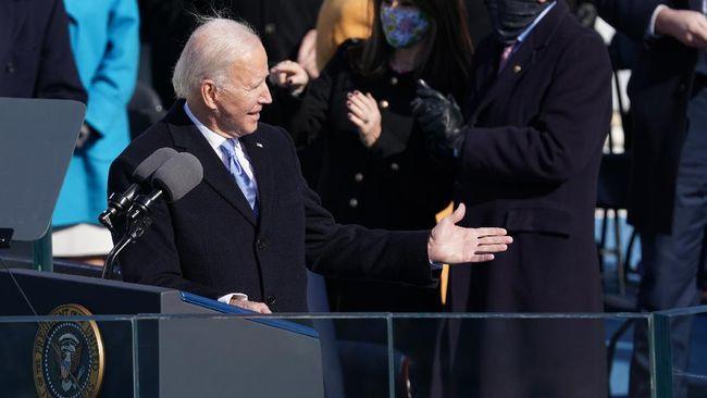 Presiden Amerika Serikat Joe Biden menyoroti sejumlah kondisi buruk di negaranya dalam pidato perdana usai dilantik, Rabu (20/1).