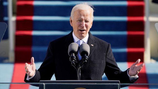 Presiden AS Joe Biden berjanji untuk mengalahkan ekstremisme politik dan teror domestik yang ditimbulkan dari supremasi kulit putih.