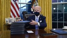 Biden Janjikan Jaga Kebebasan Pers AS