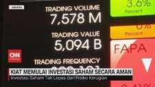 VIDEO: Kiat Memulai Investasi Saham Secara Aman