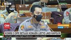 VIDEO: Komisi 3 DPR Setujui Komjen Listyo jadi Kapolri