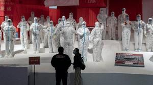 FOTO: Melihat Museum Corona di Wuhan