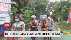 VIDEO: Kristen Gray Jalani Deportasi