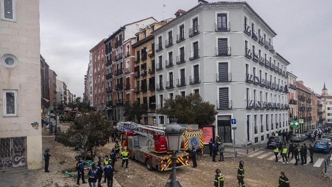 Sebuah ledakan akibat kebocoran gas di Ibu Kota Madrid, Spanyol, pada Rabu (20/1) kemarin menewaskan empat orang.
