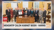 VIDEO: Mengintip Calon Kabinet Biden - Harris