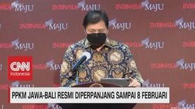 VIDEO: PPKM Diperpanjang, Jam Operasional Resto Mal Ditambah