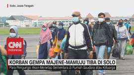 VIDEO: Korban Gempa Majene-Mamuju Tiba di Solo