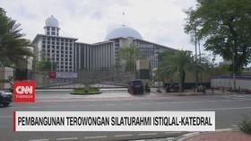 VIDEO: Pembangunan Terowongan Silaturahmi Istiqlal-Katedral