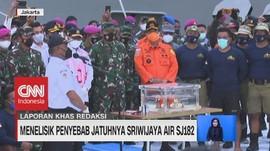VIDEO: Menelisik Penyebab Jatuhnya Sriwijaya Air SJ182