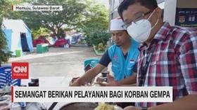 VIDEO: Semangat Berikan Pelayanan bagi Korban Gempa