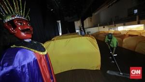 FOTO: Isolasi Mandiri OTG di Balai Latihan Kesenian DKI
