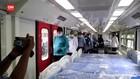 VIDEO: Gerbong Kereta Diubah Jadi Ruang Isolasi