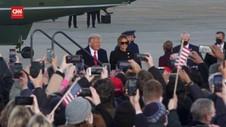 VIDEO: Lagu 'My Way' Iringi Trump Tinggalkan Gedung Putih