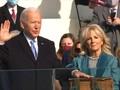 VIDEO: Momen Biden-Haris Disumpah Jadi Presiden dan Wapres AS