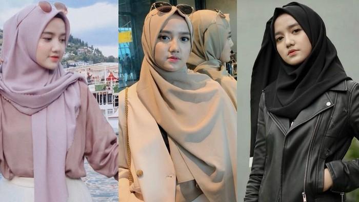 7 Gaya Hijab Wirda Mansur, Si Cantik yang Jago Bisnis!