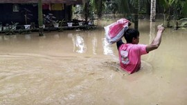 Banjir Aceh Tamiang Meluas ke 11 Kecamatan, 4.147 Mengungsi