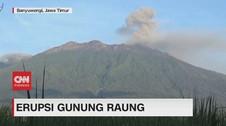 VIDEO: Gunung Raung Erupsi, Status Naik jadi Waspada