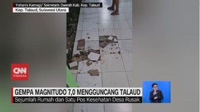 VIDEO: Gempa Magnitudo 7,0 Mengguncang Talaud Sulawesi Utara