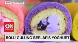 VIDEO: Bolu Gulung Berlapis Yoghurt